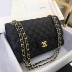 Chanel Classic Double Flap Bag – Caviar & Medium & Black