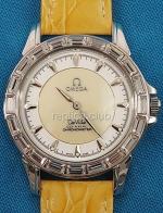 Omega De Ville Co-Axial Watch Replica Diamonds #8