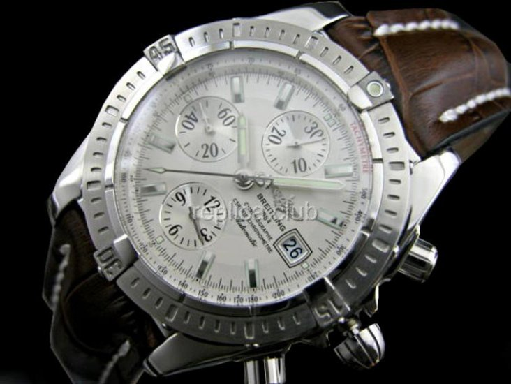Breitling Chronomat Evolution Chronograph Swiss Swiss Replica Watch #1