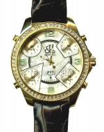 Jacob & Co Five Time Zone Full Size Replica Watch #9