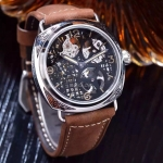 Officine Panerai Radiomir Skeleton Geschnitzte 6497 Handaufzug Replica Watch