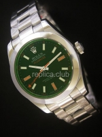 Rolex New Milguess Green Swiss Replica Watch
