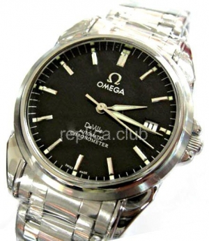 Omega DeVille Co-Axial Swiss Replica Watch #1