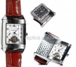 Jaeger Le Coultre Reverso Duetto Replica Watch Tourbillon #1