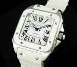 Cartier Santos 100 Mens Swiss Replica Watch #2