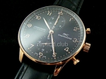 IWC Chrono Portuguses Swiss Replica Watch #4