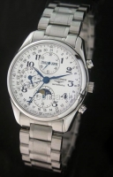 Longines Master Collection Moonphase Chronograph Swiss Watch реплики