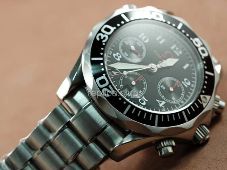 Omega Speedmaster Дата Chronograph Swiss Watch реплики #2