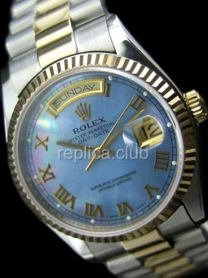 Rolex Oyster Perpetual Day-Date Swiss Replica Watch #16