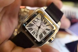 Cartier Santos 100 Swiss Replica Watch