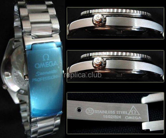 Omega Seamaster Planet Ocean Co-Axial Swiss Replica Watch #2