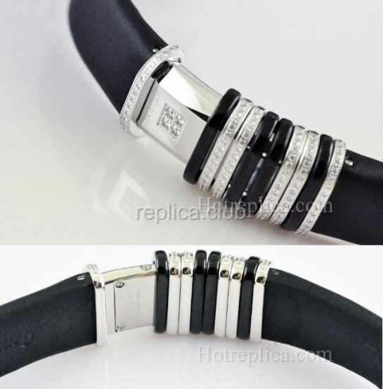Mesdames Cartier Diamond Déclaration Watch Swiss Replica #2