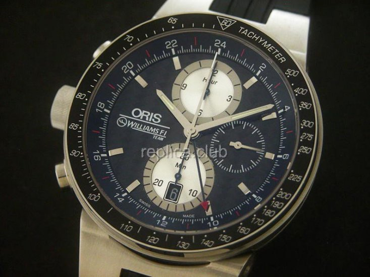 Oris Team Lefty Limited Edition Chronograph - Mens Swiss Replica Watch