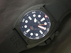 Белл и Росс инструмента BR-02 Swiss Watch реплики
