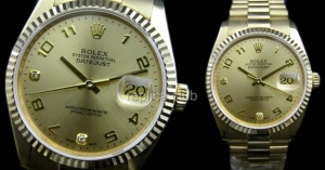 Rolex Oyster Perpetual DateJust Swiss Replica Watch #29