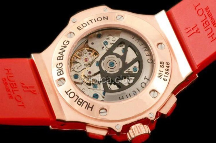 Hublot Big Bang Aspen Diamonds Chronograph Replik Schweizer