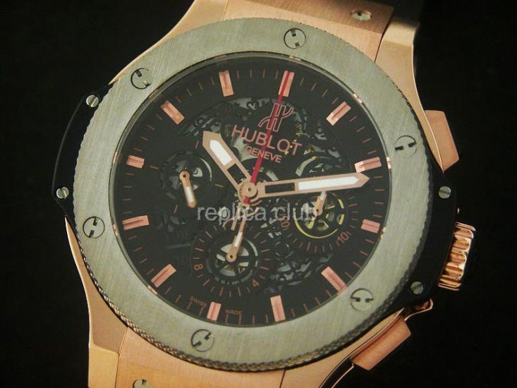 Hublot Big Bang Skeleton automatique Replica Watch suisse #3