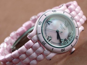 Chopard Happy Sport Real Keramik Swiss Replica Watch