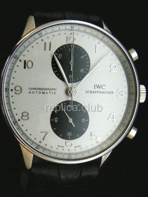 IWC Portuguses Chrono Swiss Replica Watch #1