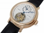 Breguet Юбилейный Regulatuer лосося Real Tourbillon Swiss Watch реплики #4