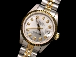 Rolex Oyster Mesdames DateJust Perpetual Watch Swiss Replica #4