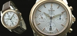 Omega De Ville Chronograph Swiss Replica Watch