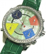 Jacob & Co Five Time Zone Full Size Replica Watch #14