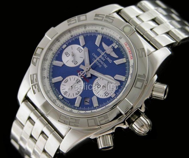 Breitling Chronomat B1 Swiss Replica carbone #3