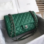 Chanel Classic Double Flap Bag – Caviar & Medium & Green