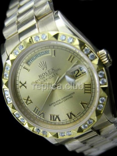 Rolex Oyster Perpetual Day-Date Swiss Replica Watch #26
