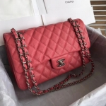 Chanel Classic Double Flap Bag – Caviar & Medium & Pink