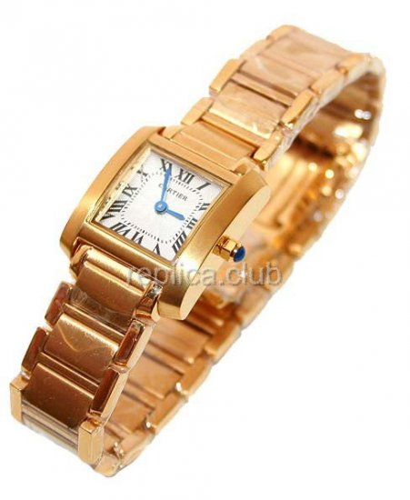 Cartier Tank Francaise Ladies Replica Watch #2