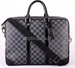 Louis Vuitton Porte-Documents Voyage GM DAMIER GRAPHITE N41123 Handbag Replica