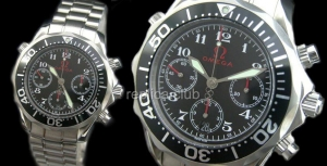 Omega Seamaster Chronograph Olympic Timeless Swiss Replica Watch