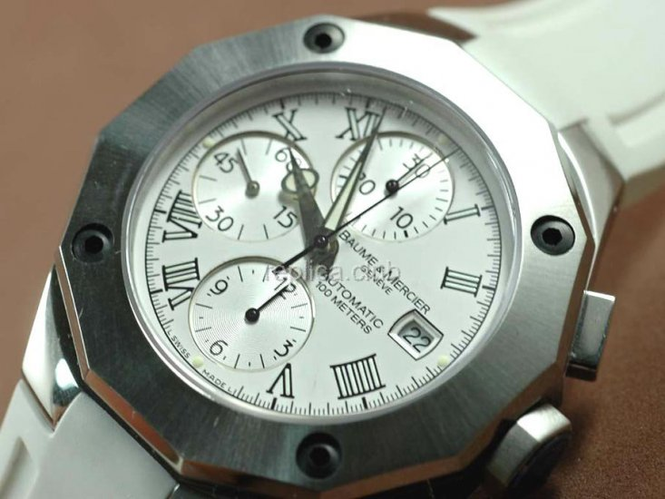 Baume и Мерсье Ривьера XXL Chronograph Swiss Watch реплики #2