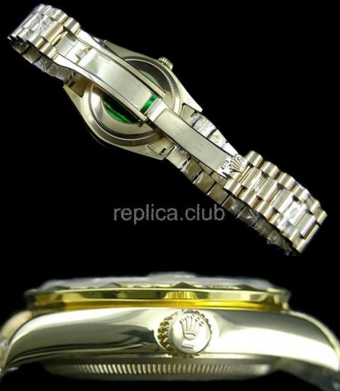 Ойстер Rolex Perpetual Day-Date Swiss Watch реплики #32