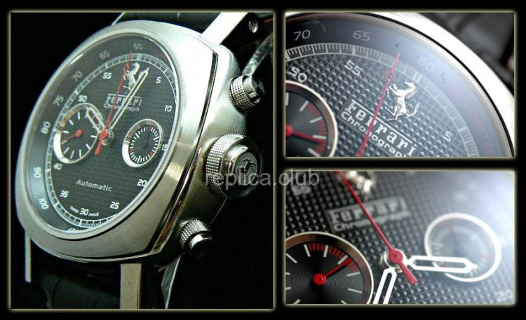 Ferrari Gran Tourismo Chrono Swiss Replica Watch #1