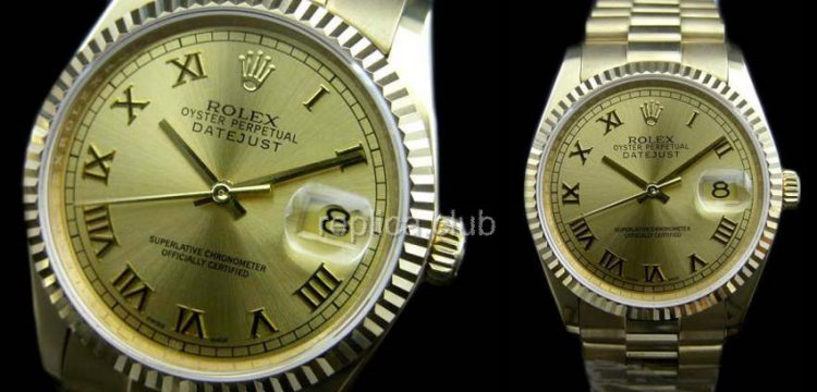 Rolex Datejust Oyster Perpetual Replica Watch suisse #30