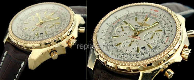 Breitling For Bently Motors Chronograph Swiss Swiss Replica Watch #1