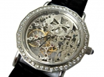 Vacheron Constantin Skeleton Diamonds Swiss Replica Watch