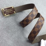 Louis Vuitton Leather Belt Replica
