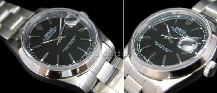 Rolex Oyster Perpetual DateJust Swiss Replica Watch #10