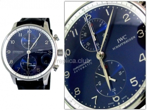 IWC Portuguese Chronograph Laureus Limited Edition Swiss Replica Watch