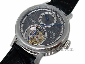 Breguet Tourbillon Giubileo Salmon Regulatuer Real Repliche orologi svizzeri #2