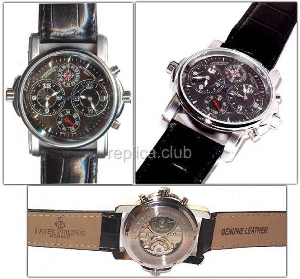 достаточно, часы patek philippe genuine leather лишним будет