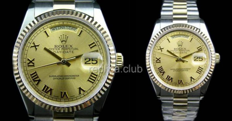 Rolex Oyster Perpetual Day-Date Swiss Replica Watch #14