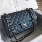 Chanel Classic Double Flap Bag – Caviar & Medium & Blue
