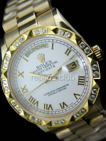 Rolex Oyster Perpetual Day-Date Swiss Replica Watch #28