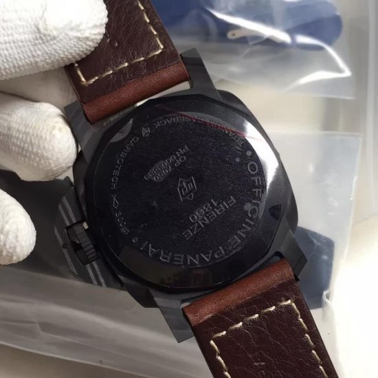 Officine Panerai PAM00661 Luminor Marina 1950 Carbotech Automatic in Carbon Fiber