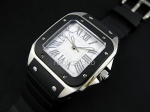 Cartier Santos 100 Mens Swiss Replica Watch #4